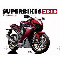 Kalendarz Motocykle Superbikes 2019 Calendar Książki i Komiksy