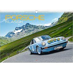Kalendarz Porsche Classic 2019 Calendar Książki i Komiksy