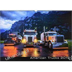 Kalendarz Amerykańskie Ciężarówki American Trucks Calendar 2019 Książki i Komiksy