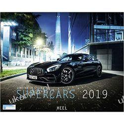 Kalendarz Samochody Supercars 2019 Calendar Książki i Komiksy