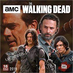 The Walking Dead AMC 2019 Square Wall Calendar Pozostałe albumy i poradniki