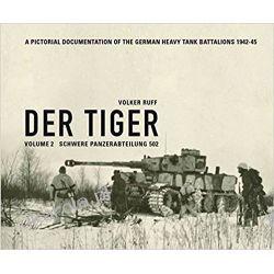 Der Tiger Schwere Panzerabteilung 502 Volume 2 Książki i Komiksy