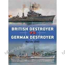 British Destroyer vs German Destroyer Narvik 1940 Książki i Komiksy