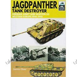 Jagdpanther Tank Destroyer German Army, Western Europe 1944 -1945 (Tank Craft) Książki i Komiksy