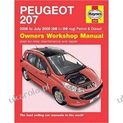 Peugeot 207 Petrol & Diesel (06 - July 09) Haynes Repair Manual Pozostałe