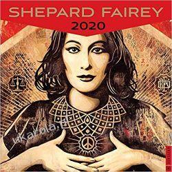 Kalendarz Shepard Fairey 2020 Wall Calendar Książki i Komiksy