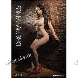 Kalendarz Dream Girls 2020 Calendar Książki i Komiksy