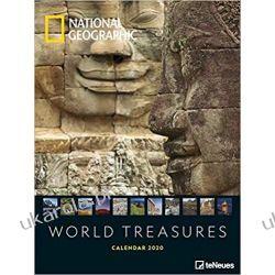 Kalendarz National Geographic World Treasures 2020 Calendar Książki i Komiksy