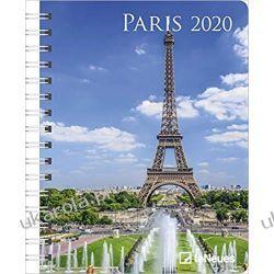 Kalendarz książkowy Paris 2020 Diary Calendar
