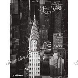 Kalendarz New York 2020 Poster Calendar Książki i Komiksy