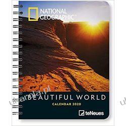Kalendarz National Geographic Beautiful World 2020 Diary Książki i Komiksy