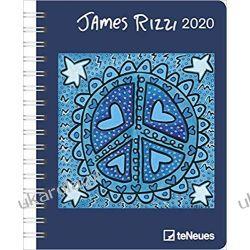 Kalendarz James Rizzi 2020 Diary Calendar Książki i Komiksy