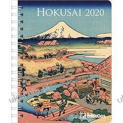Kalendarz Hokusai 2020 Diary calendar Książki i Komiksy