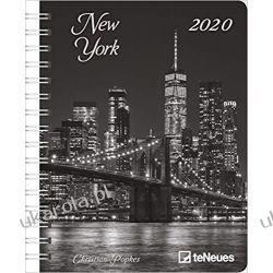 Kalendarz New York 2020 Diary Calendar Książki i Komiksy