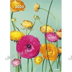 Kalendarz Flower Fantasy 2020 Magneto Diary Calendar Pozostałe