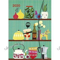 Kalendarz Kitchen Love by Elisandra 2020 Magneto Diary Calendar Książki i Komiksy