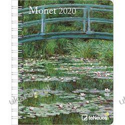 Kalendarz Monet 2020 Diary Calendar Książki i Komiksy