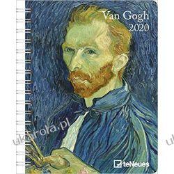Kalendarz van Gogh 2020 Diary Calendar Książki i Komiksy
