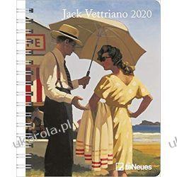 Kalendarz Jack Vettriano 2020 Diary Calendar Książki i Komiksy