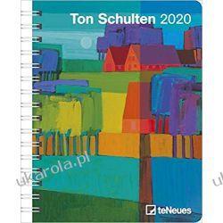 Kalendarz Ton Schulten 2020 Diary Calendar Książki i Komiksy