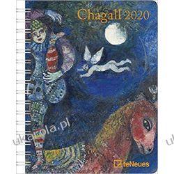 Kalendarz Chagall 2020 Diary Calendar Książki i Komiksy