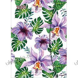 Kalendarz Flowers 2020 Magneto Diary Calendar