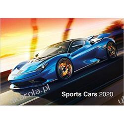 Sports Cars 2020 Calendar samochody sportowe Książki i Komiksy