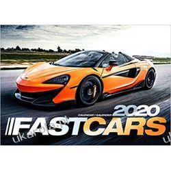 Kalendarz Fast Cars 2020 Calendar szybkie samochody Książki i Komiksy