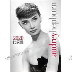 Kalendarz Audrey Hepburn 2020 Calendar Książki i Komiksy