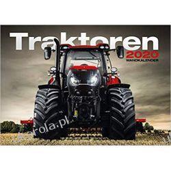 Kalendarz Tractors 2020 Calendar traktory Książki i Komiksy