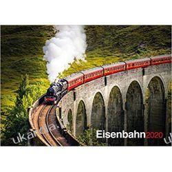 Kalendarz Steam Trains Railway Calendar 2020 kolej Książki i Komiksy