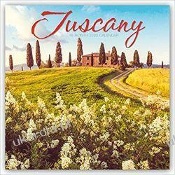 Kalendarz Tuscany 2020 Square Wall Calendar Toskania Włochy Historyczne