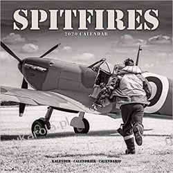 Kalendarz Spitfires Calendar 2020 lotnictwo