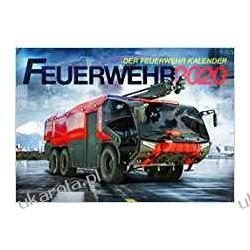 Kalendarz Fire Trucks 2020 Calendar wozy strażackie Książki i Komiksy