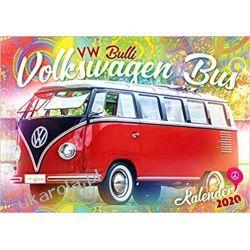 Kalendarz VW Bus Camper Vans 2020 Calendar Książki i Komiksy