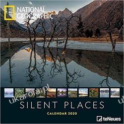 Kalendarz National Geographic Silent Places 2020 Calendar Książki i Komiksy