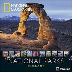 Kalendarz National Parks 2020 National Geographic Calendar parki narodowe Książki i Komiksy