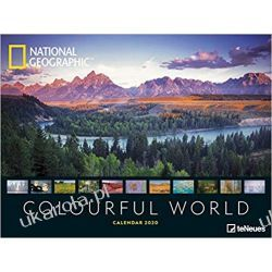 Kalendarz Colourful World 2020 National Geographics Poster Calendar Książki i Komiksy