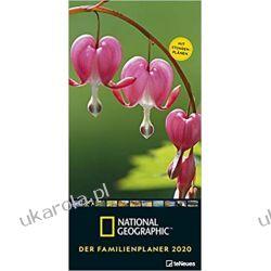 National Geographic Der Familienplaner 2020 Calendar Engagement Książki i Komiksy