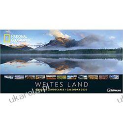 Kalendarz National Geographic Weites Land 2020 Książki i Komiksy