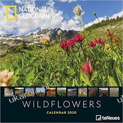 National Geographic Wildflowers 2020 Calendar  Książki i Komiksy