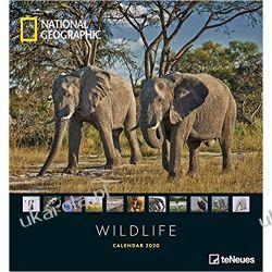 National Geographic Wildlife 2020 Fotokalender Poster Calendar Książki i Komiksy