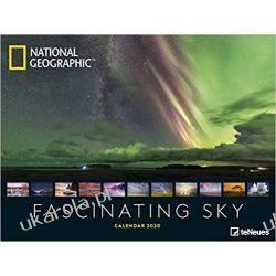 National Geographic Fascinating Sky 2020 Poster Calendar, Książki i Komiksy