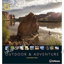 National Geographic Outdoor & Adventure 2020 Fotokalender Calendar Książki i Komiksy
