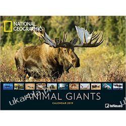 National Geographic Animal Giants 2020 Calendar Książki i Komiksy