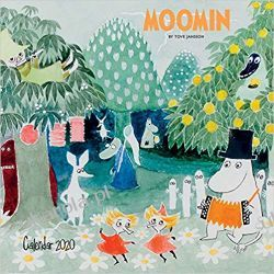Kalendarz Moomin Wall Calendar 2020 Muminki Książki i Komiksy