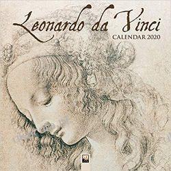 Kalendarz Leonardo Da Vinci Wall Calendar 2020 Książki i Komiksy