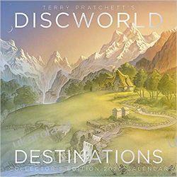 Terry Pratchett's Discworld Calendar 2020 Discworld Destinations Książki i Komiksy