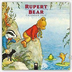 Rupert Bear Wall Calendar 2020  Książki i Komiksy