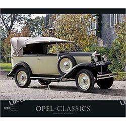 Opel-Classics 2020 - Oldtimer - Bildkalender (33,5 x 29) Calendar Książki i Komiksy
